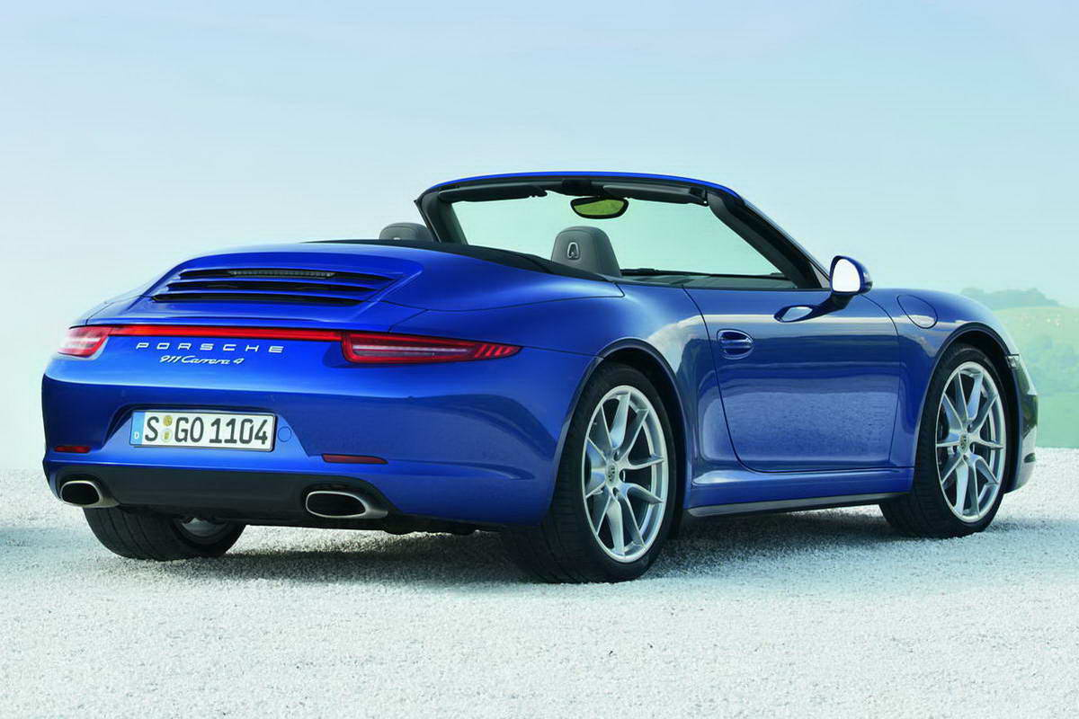 2019 Porsche 911 Carrera 4 Cabriolet photo - 4