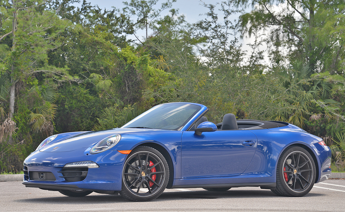 2019 Porsche 911 Carrera 4S Cabriolet photo - 1