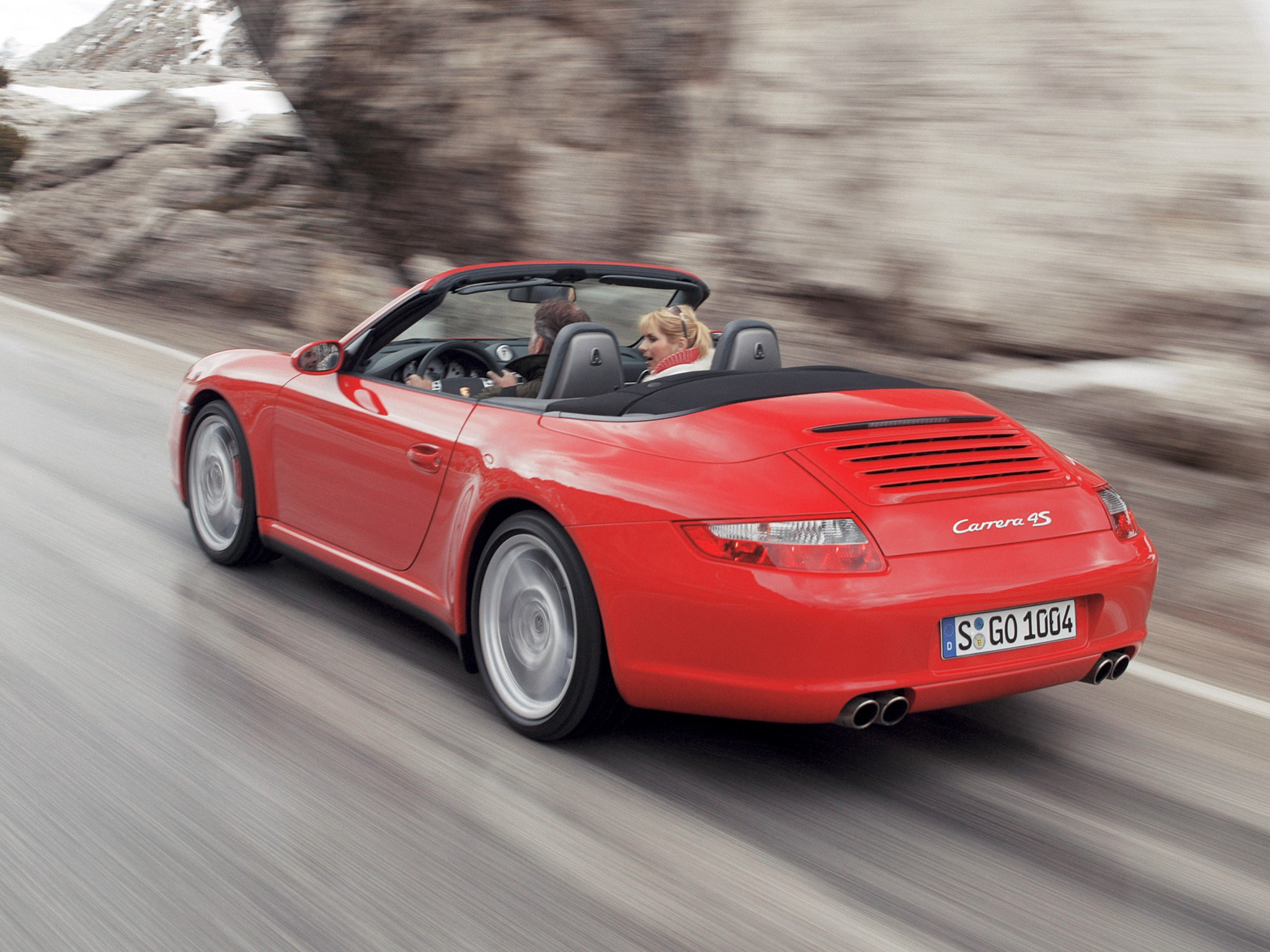2019 Porsche 911 Carrera 4S Cabriolet photo - 4