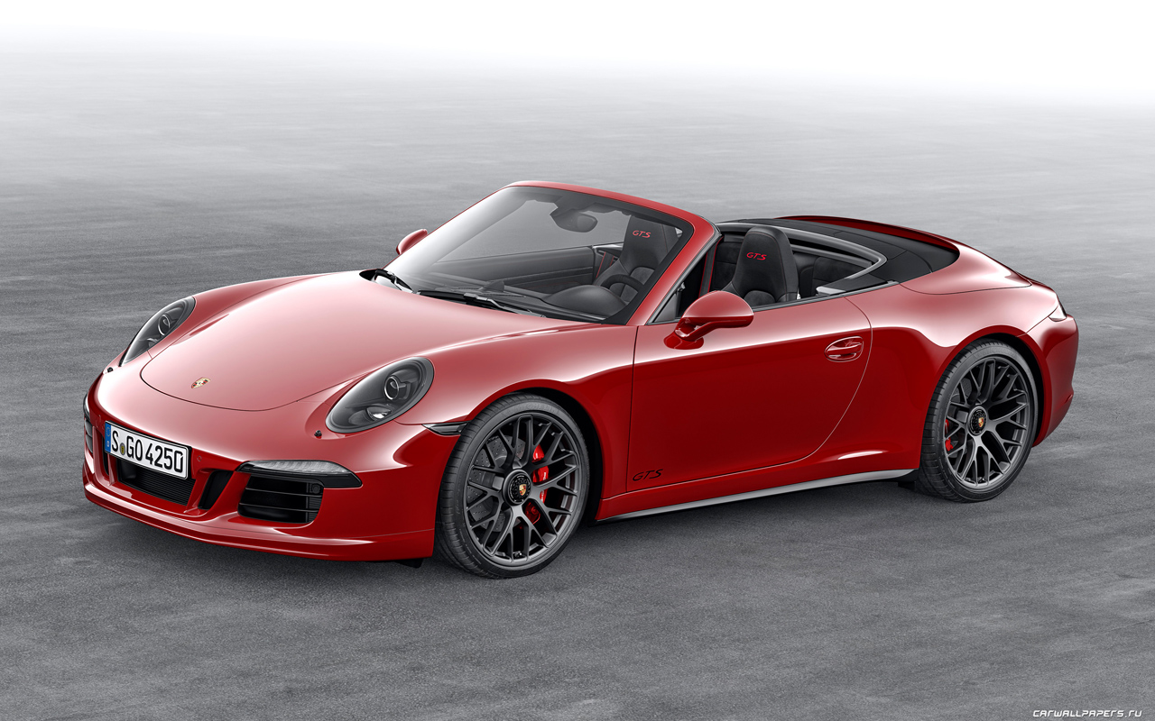 2019 Porsche 911 Carrera GTS Cabriolet photo - 4