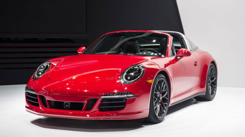 2019 Porsche 911 Targa 4 photo - 3