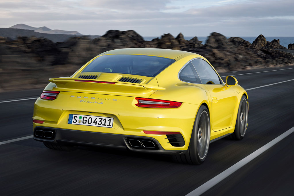 2019 Porsche 911 Turbo Coupe photo - 1