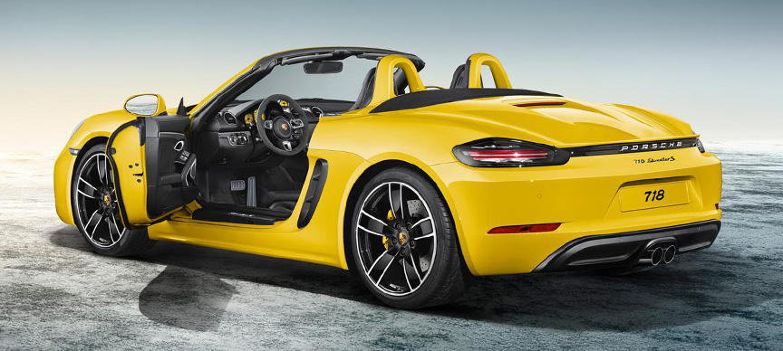 2019 Porsche Boxster photo - 4