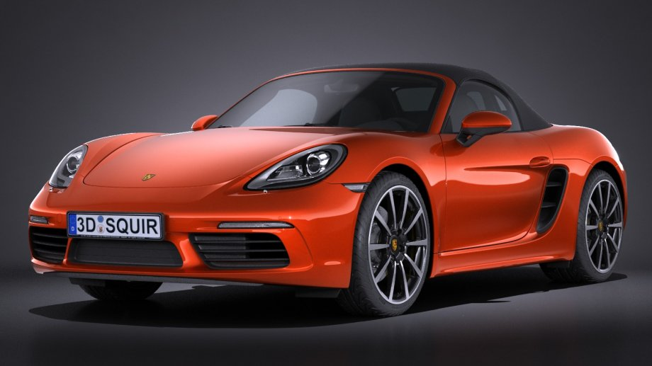 2019 Porsche Boxster Spyder photo - 1