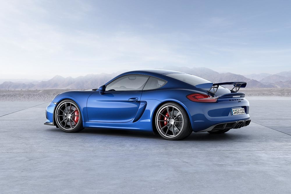 2019 Porsche Cayman GT4 photo - 4