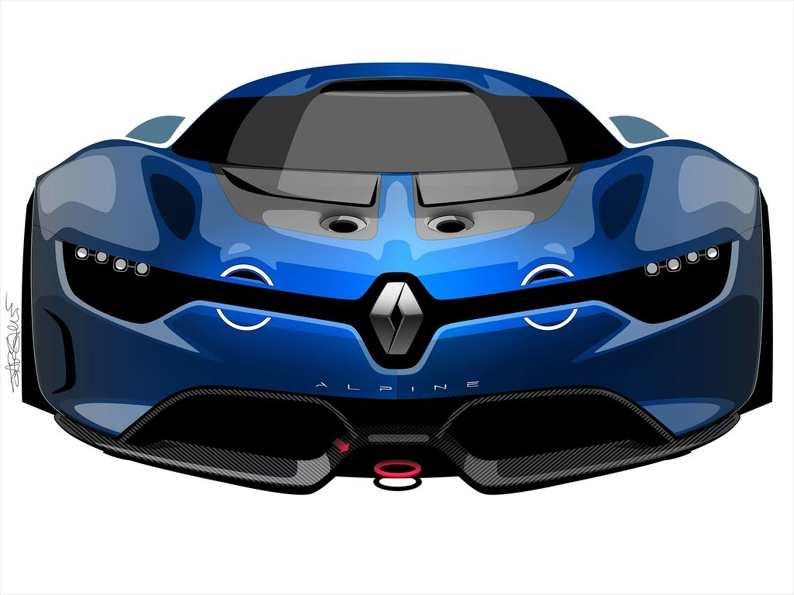 2019 Renault Alpine A 110 50 Concept photo - 6