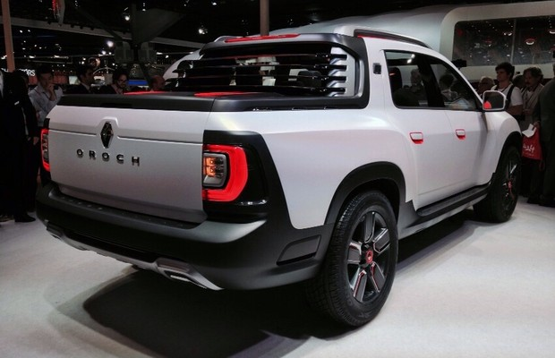 2019 Renault Duster Oroch Concept photo - 3