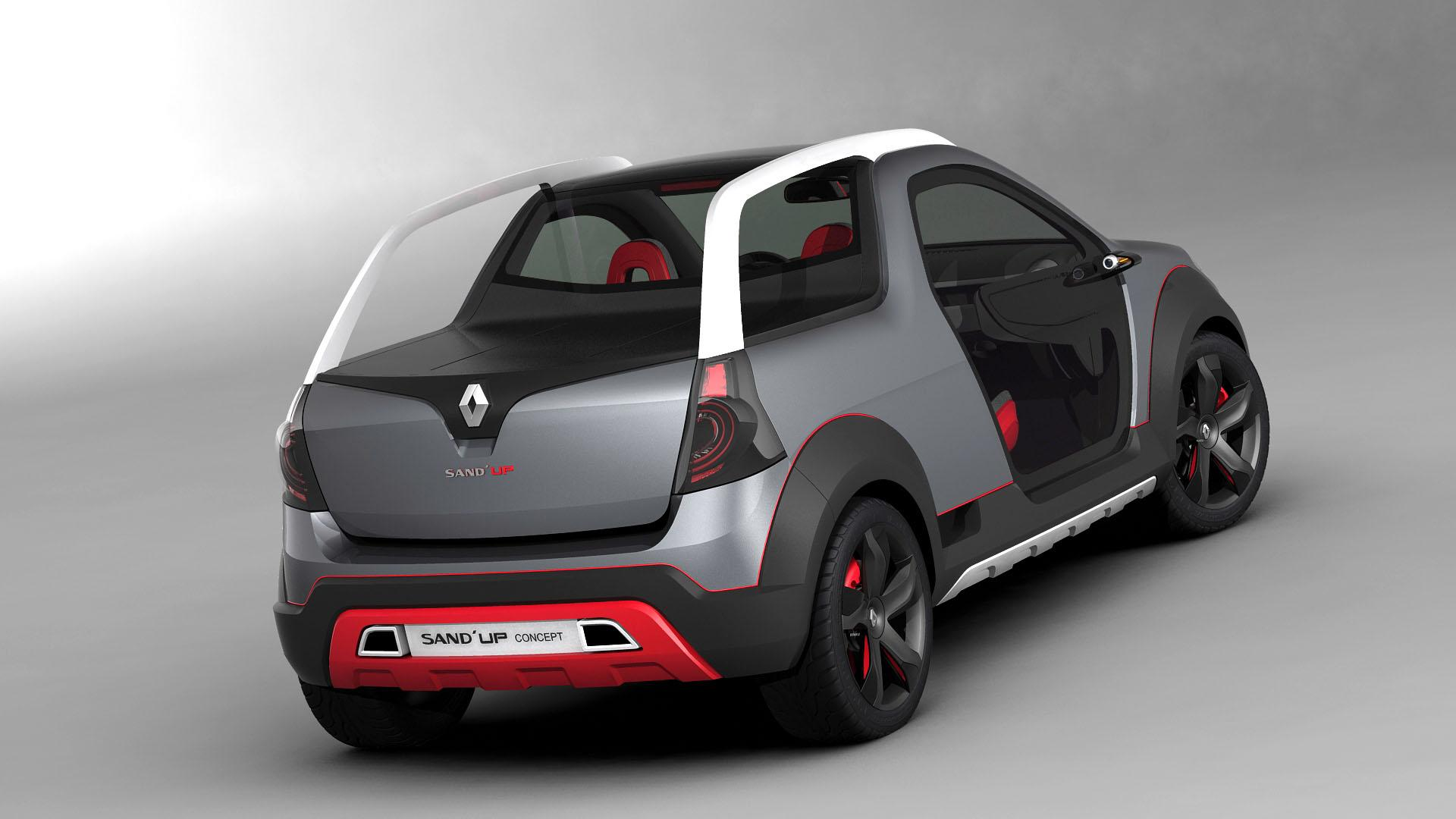 2019 Renault Sand up Concept photo - 2