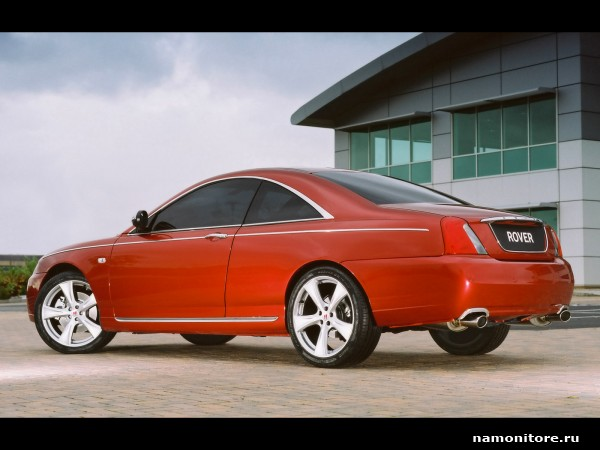 2019 Rover 75 Coupe Concept photo - 4