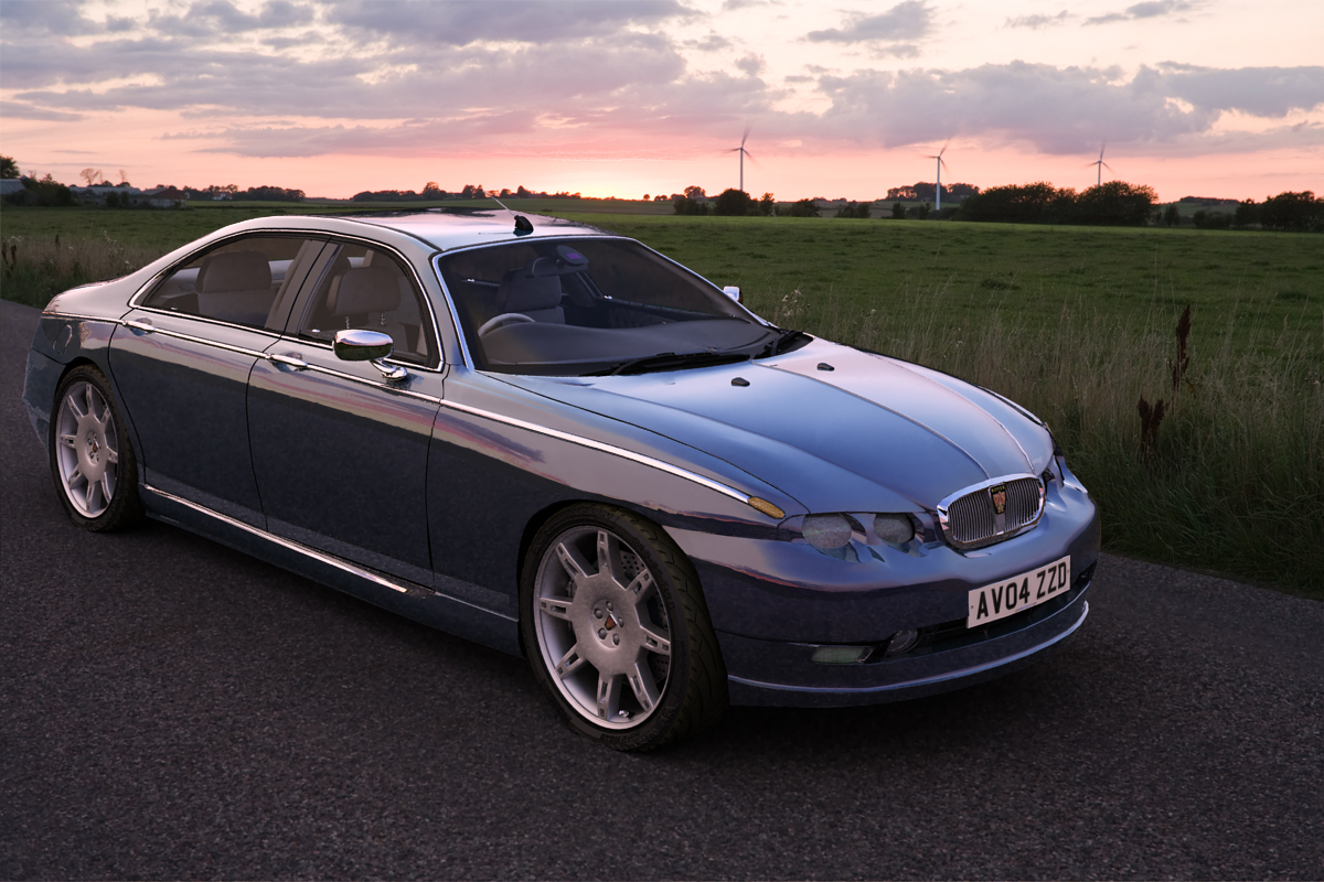 2019 Rover 75 Vanden Plas photo - 4