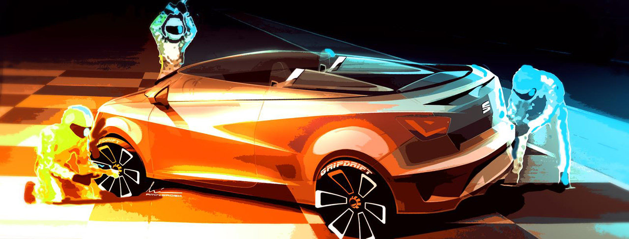 2019 Seat Ibiza Cupster Concept photo - 5