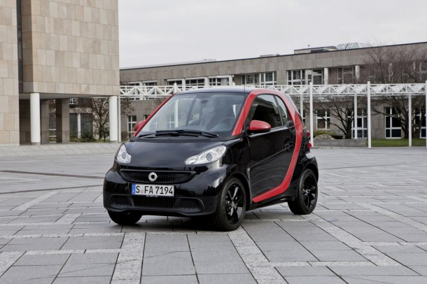 2019 Smart fortwo edition red photo - 1