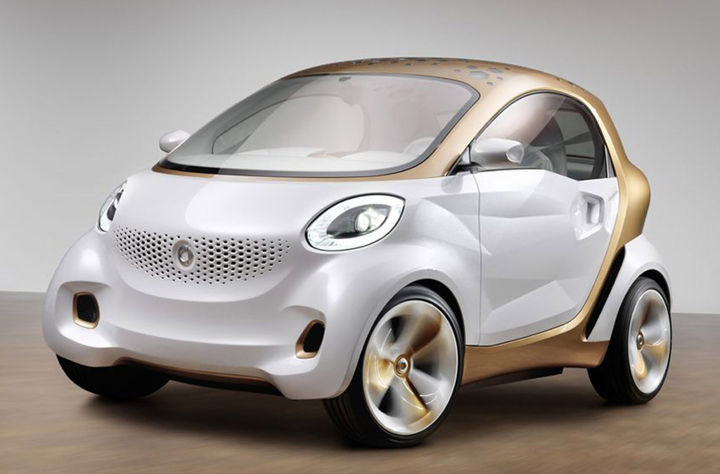 2019 Smart forvision Concept photo - 1