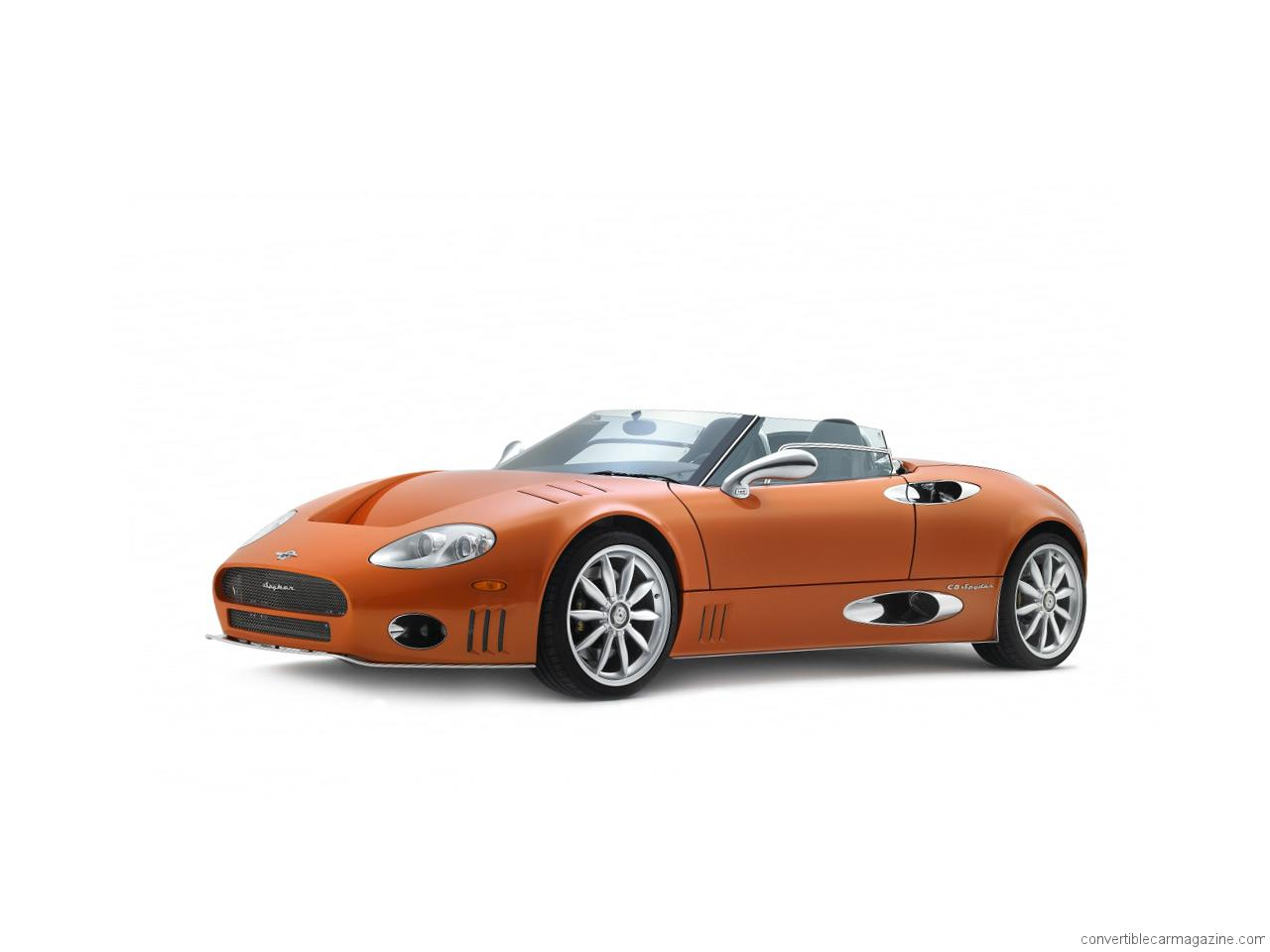 2019 Spyker C8 Aileron Spyder photo - 3