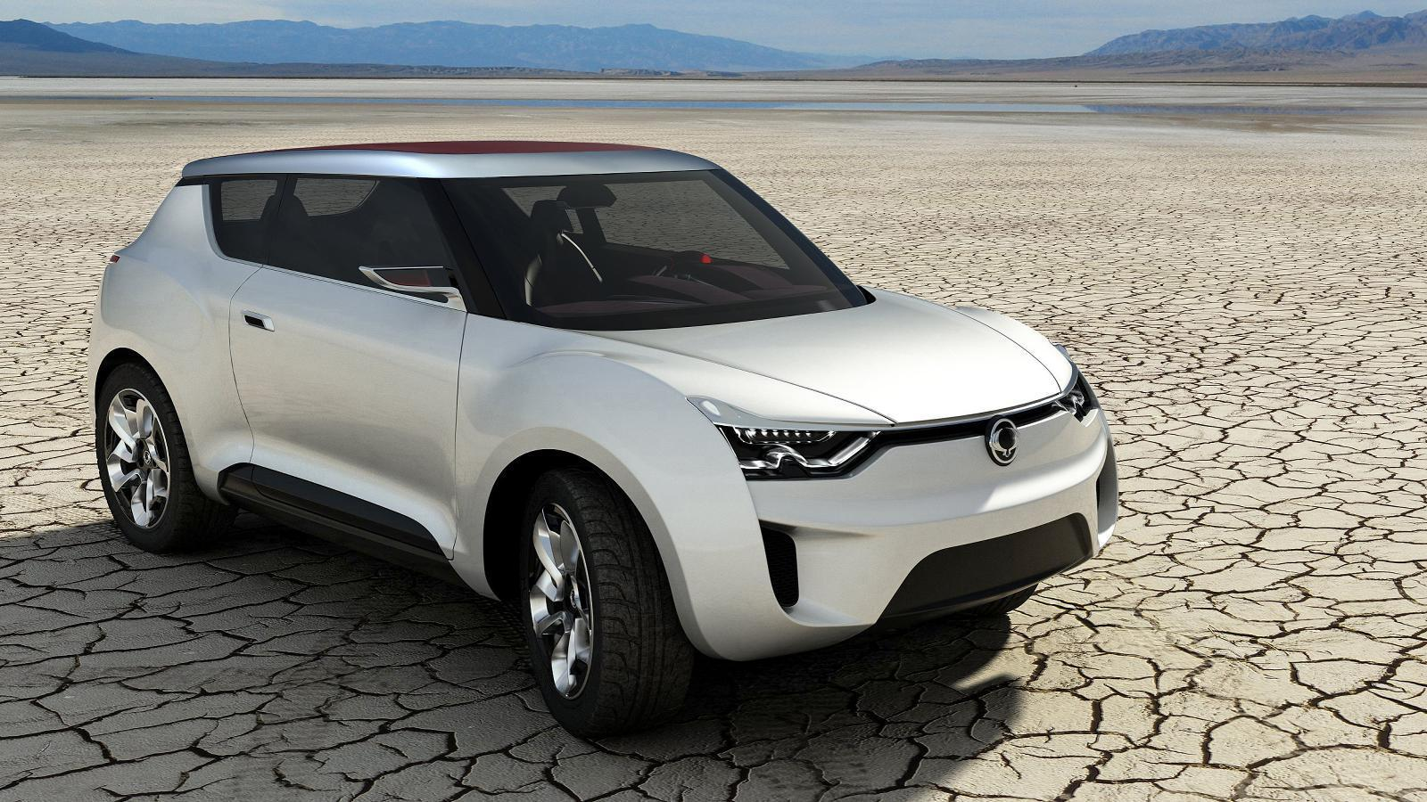 2019 SsangYong e XIV Concept photo - 1