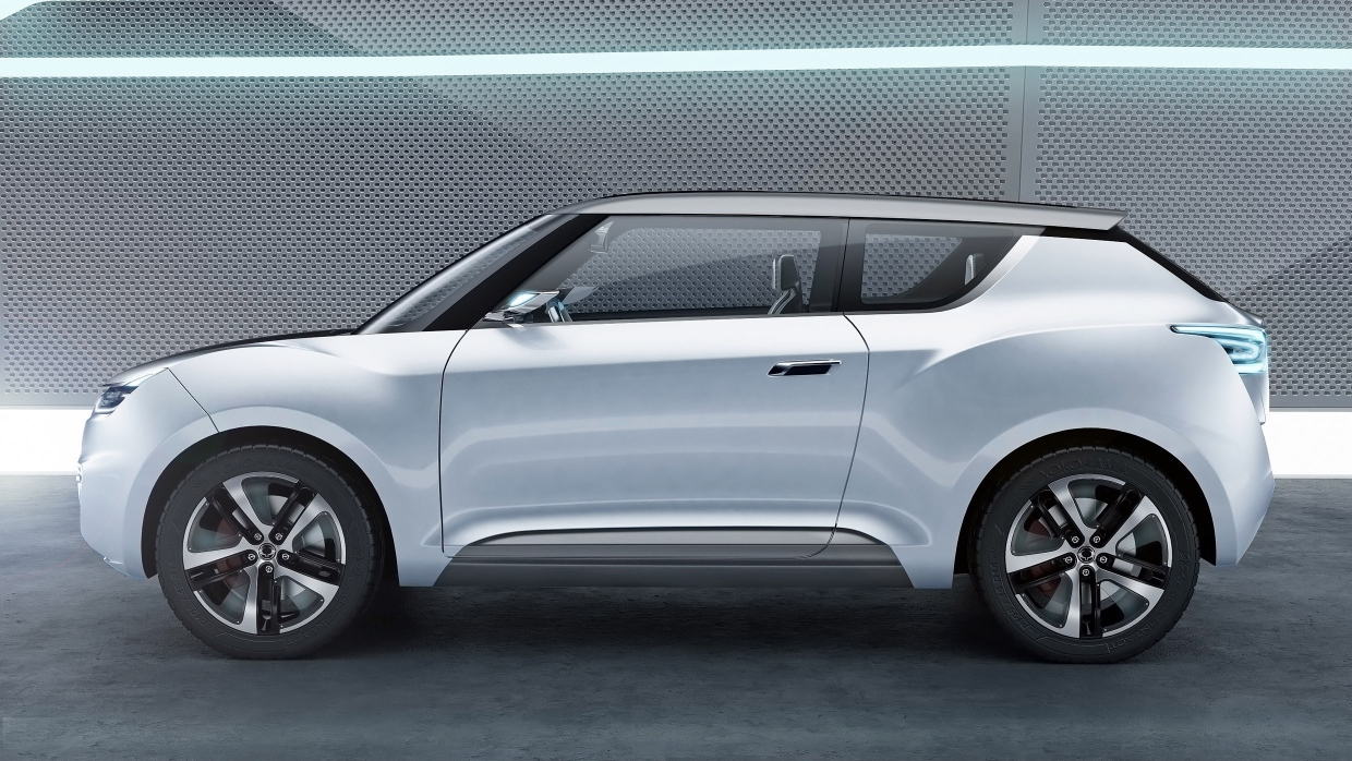 2019 SsangYong e XIV Concept photo - 2