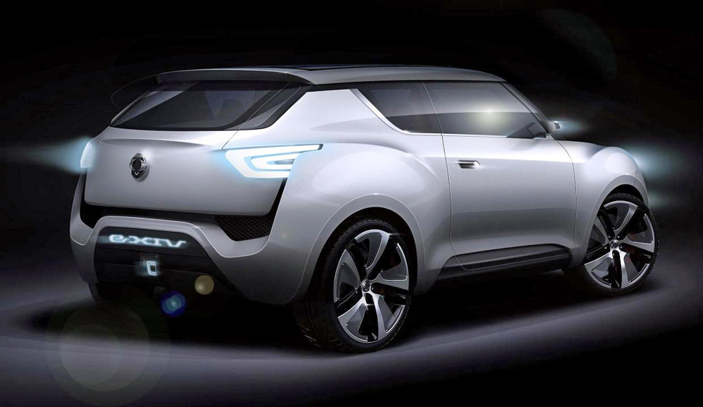 2019 SsangYong e XIV Concept photo - 3