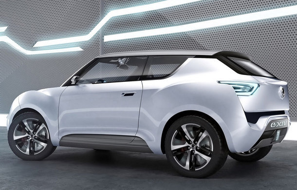 2019 SsangYong e XIV Concept photo - 5