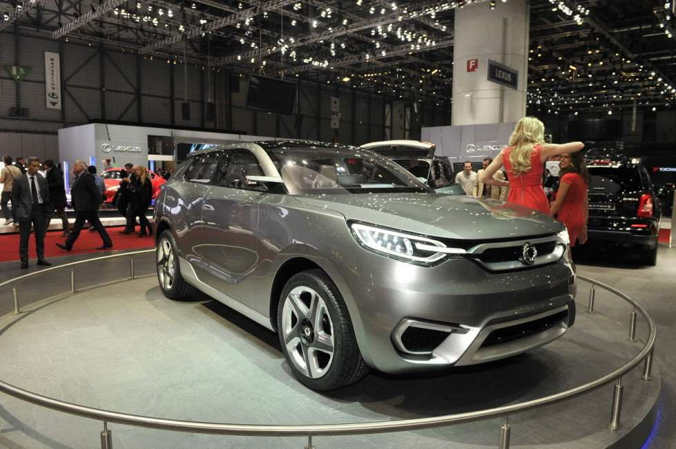 2019 SsangYong SIV 1 Concept photo - 6