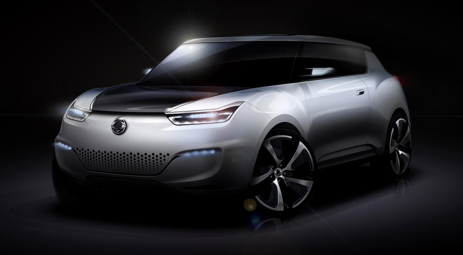 2019 SsangYong XIV 1 Concept photo - 4