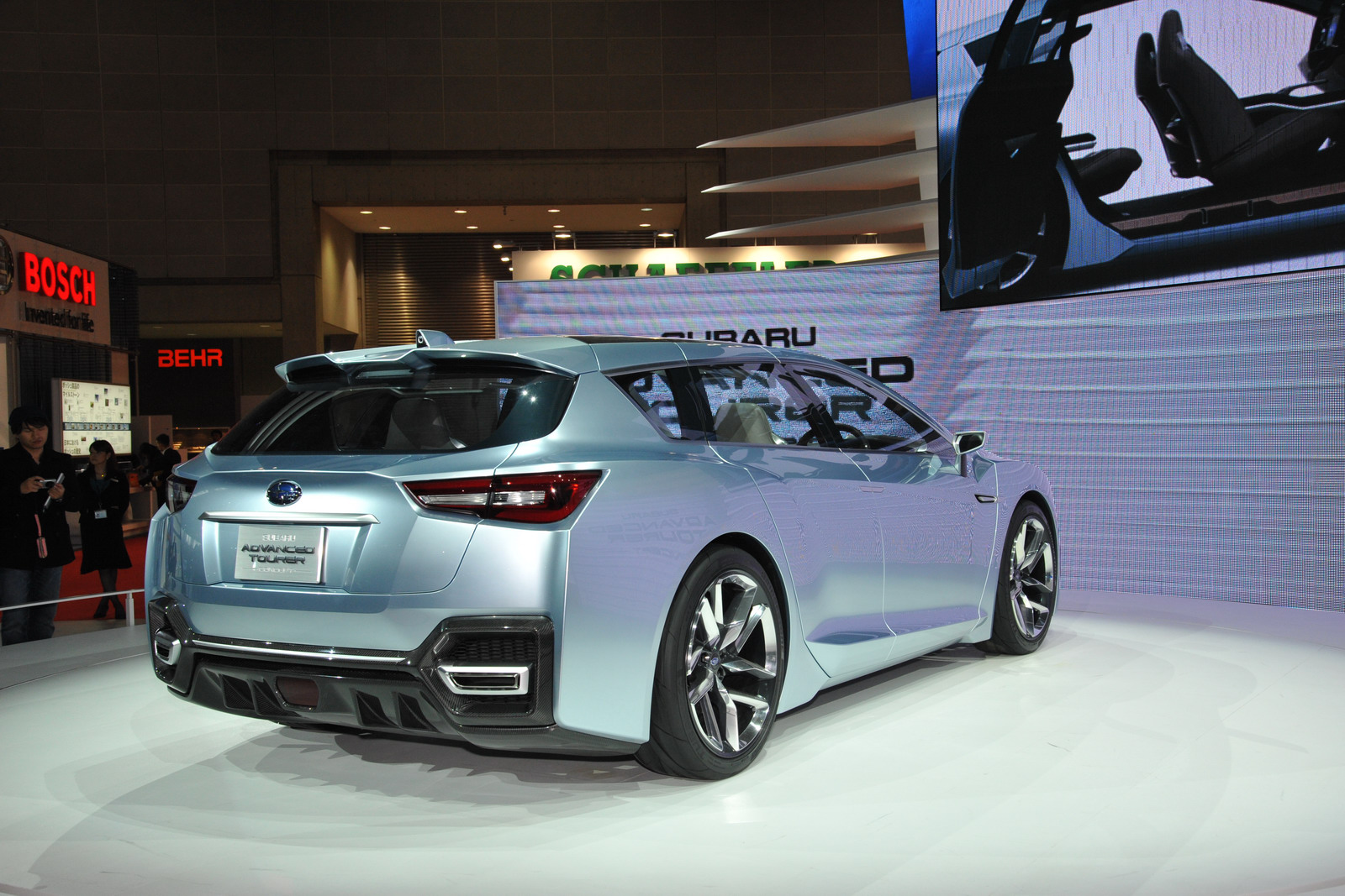 2019 Subaru Advanced Tourer Concept photo - 1