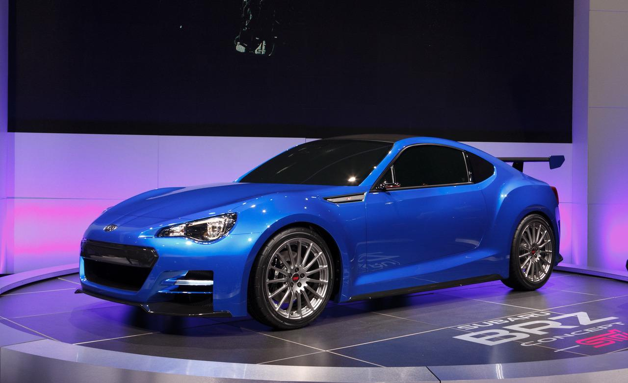 2019 Subaru Brz Sti Concept Car Photos Catalog 2018