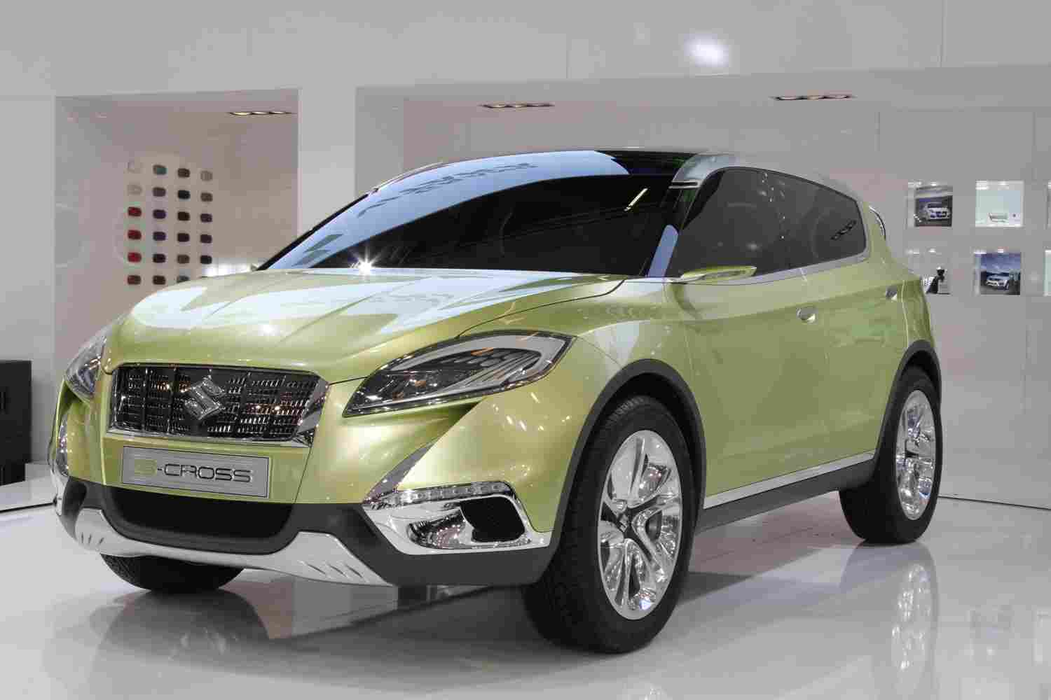 2019 Suzuki S Cross Concept photo - 2