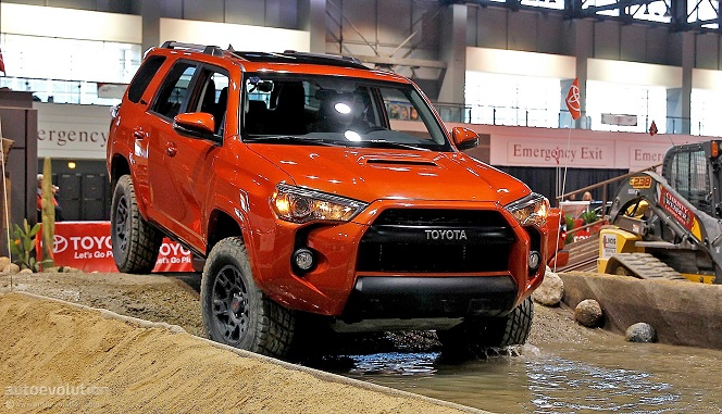 2019 Toyota 4Runner TRD Pro Series photo - 1