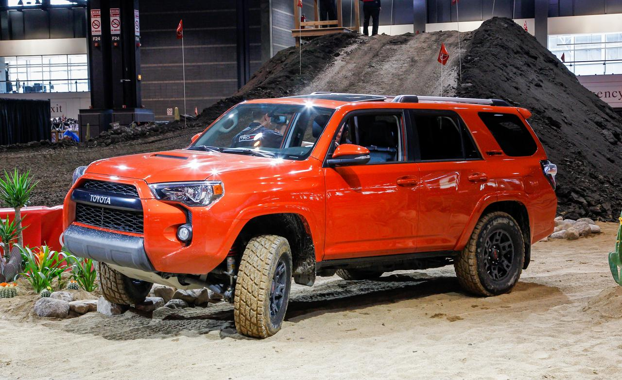 2019 Toyota 4Runner TRD Pro Series photo - 3