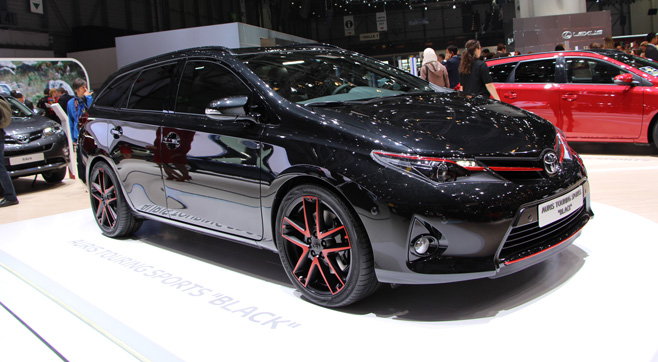 2019 Toyota Auris TS Black Concept photo - 5