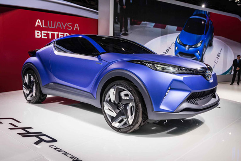 2019 Toyota C HR Concept photo - 1