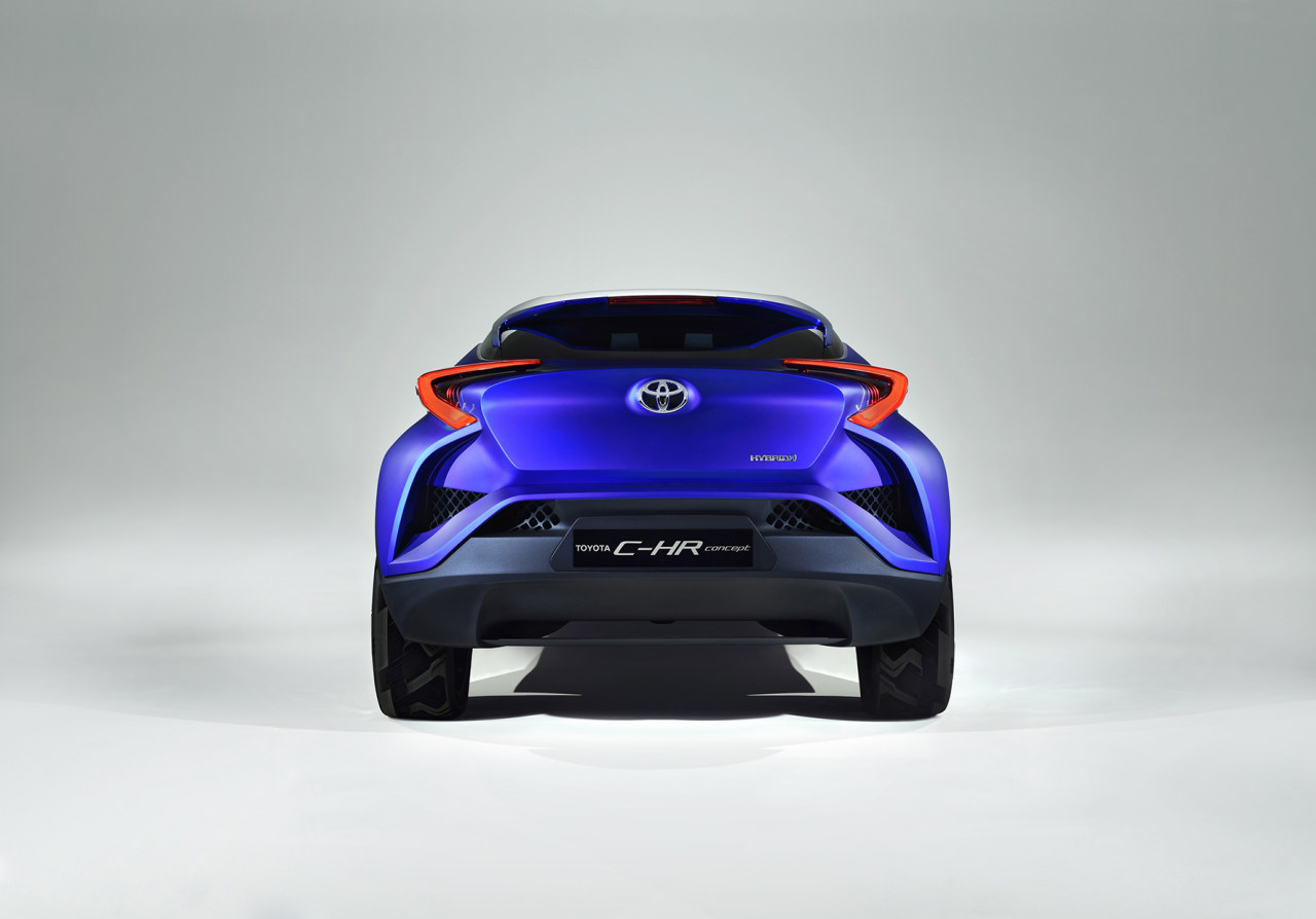 2019 Toyota C HR Concept photo - 6