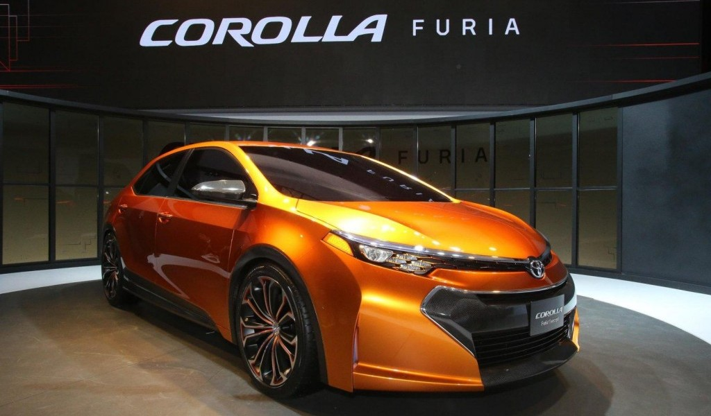2019 Toyota Corolla Furia Concept photo - 2