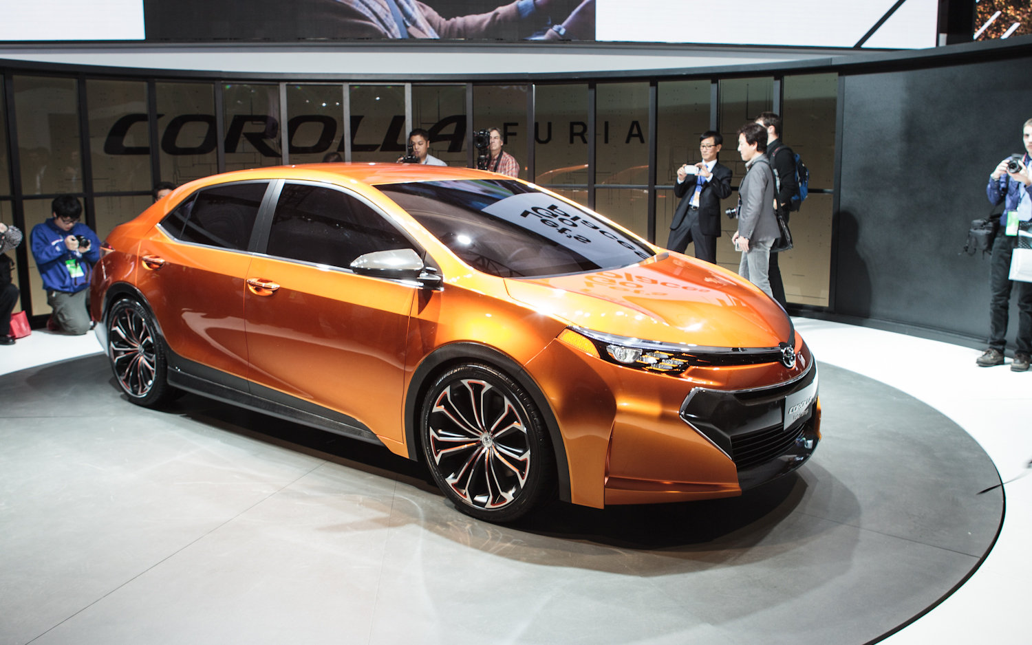 2019 Toyota Corolla Furia Concept photo - 5