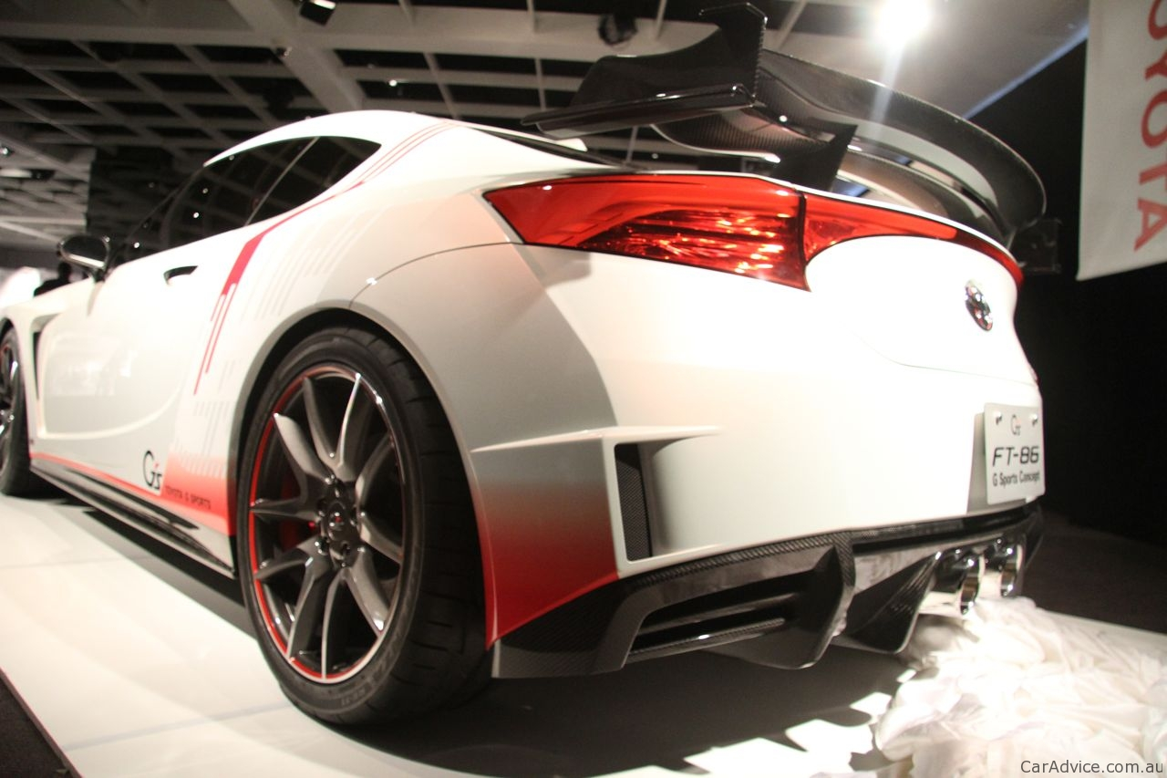 2019 Toyota FT 86G Sports Concept photo - 5