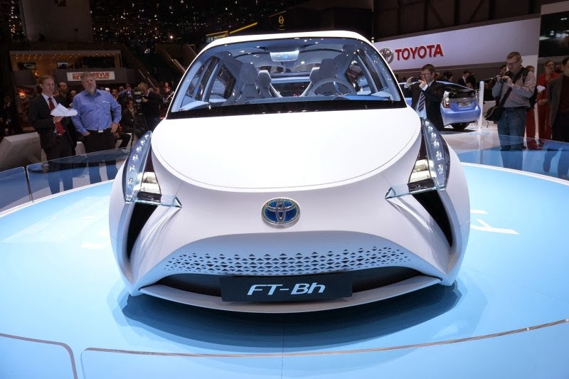 2019 Toyota FT Bh Concept photo - 4