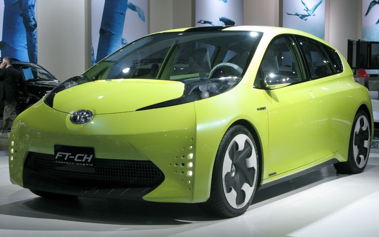 2019 Toyota FT CH Concept photo - 1