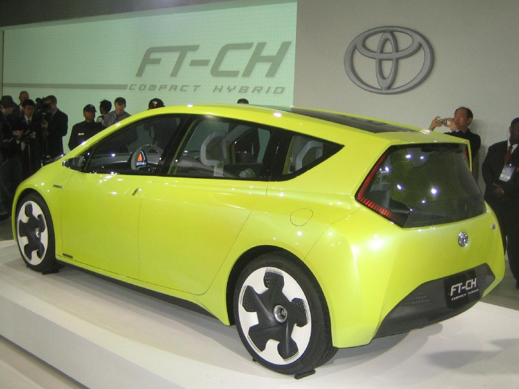 2019 Toyota FT CH Concept photo - 5