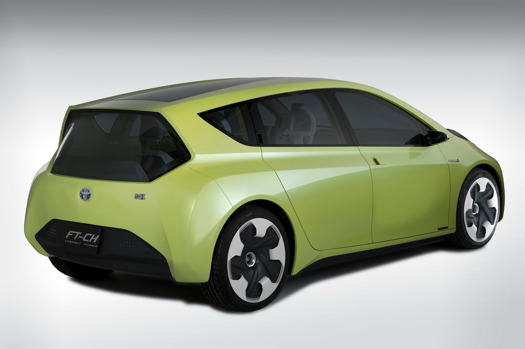 2019 Toyota FT CH Concept photo - 6