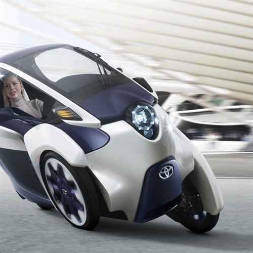 2019 Toyota i Road Concept photo - 6