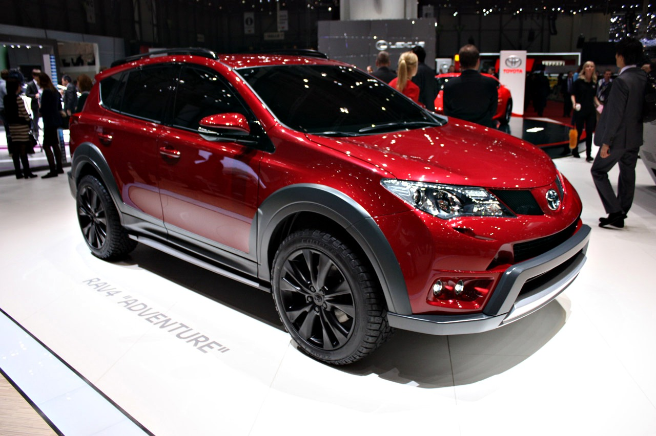 2019 Toyota RAV4 Premium Concept photo - 3