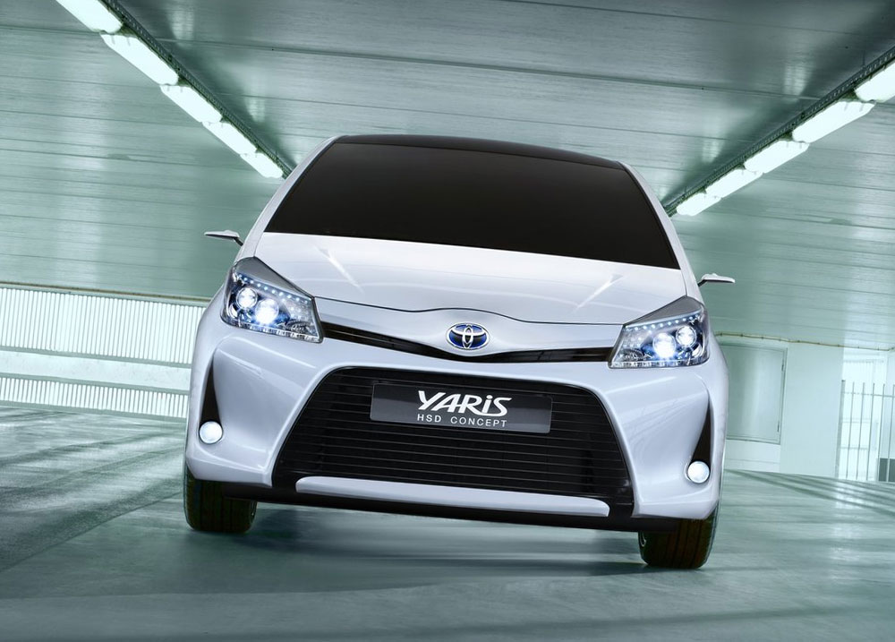 2019 Toyota Yaris HSD Concept photo - 5