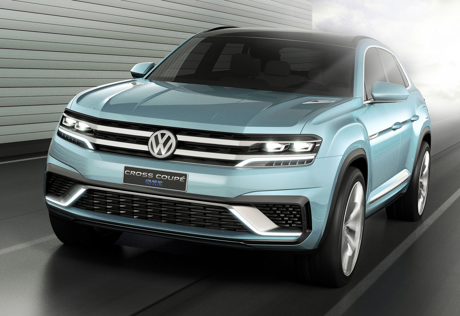 2019 Volkswagen Cross Coupe Concept photo - 2