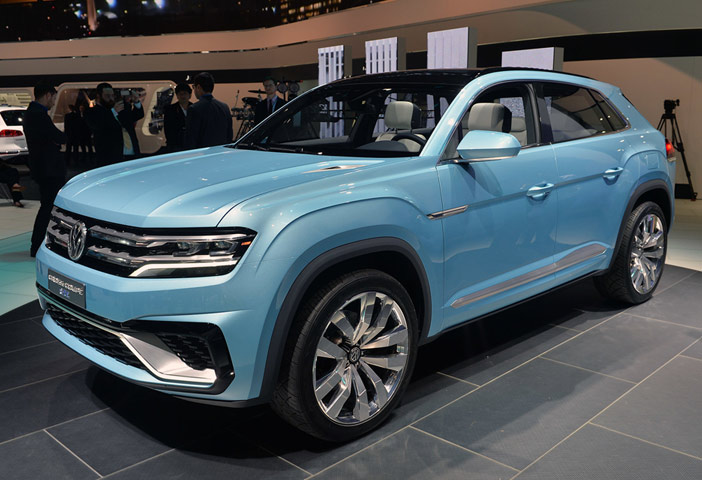 2019 Volkswagen Cross Coupe Concept photo - 4
