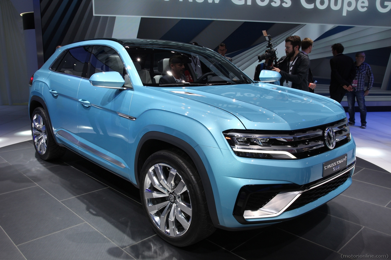 2019 Volkswagen Cross Coupe Concept photo - 6