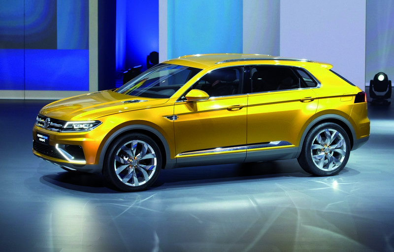 2019 Volkswagen CrossBlue Coupe Concept photo - 2