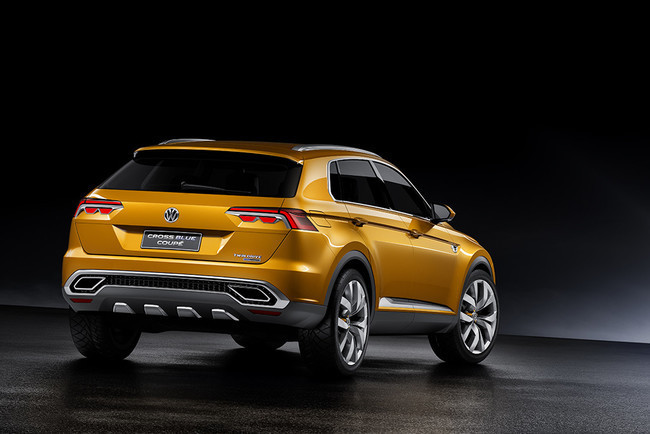 2019 Volkswagen CrossBlue Coupe Concept photo - 5