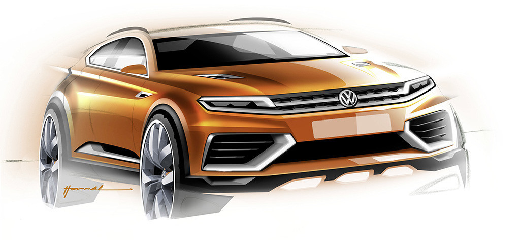 2019 Volkswagen CrossBlue Coupe Concept photo - 6
