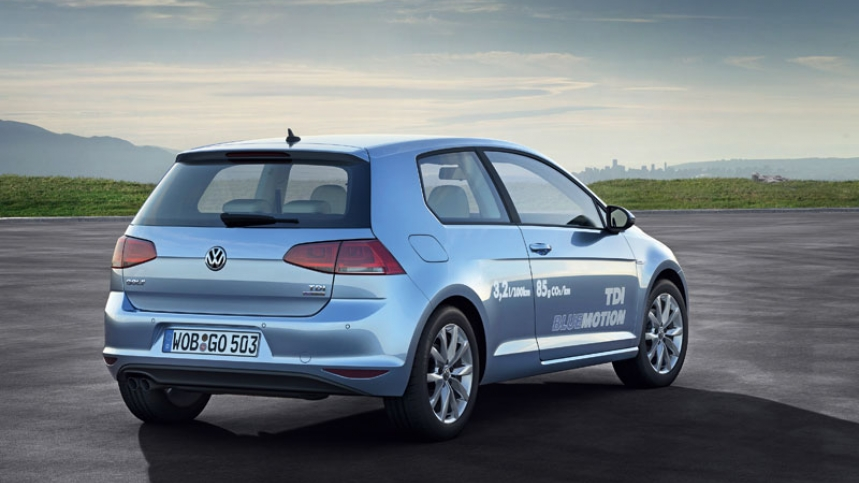 2019 Volkswagen Golf BlueMotion Concept photo - 2