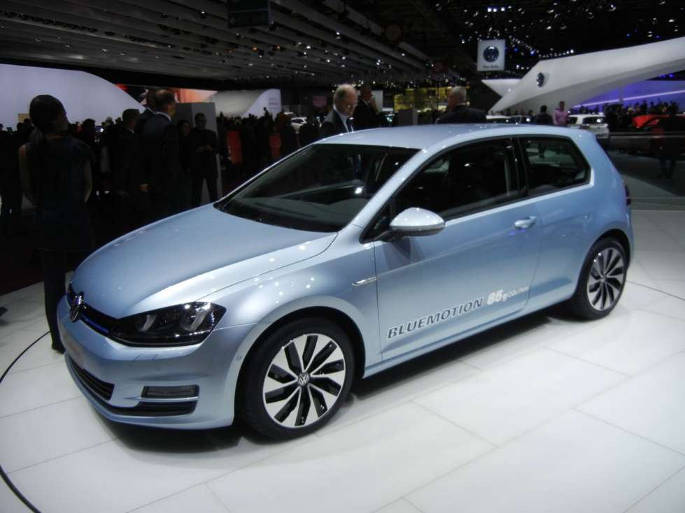 2019 Volkswagen Golf BlueMotion Concept photo - 4